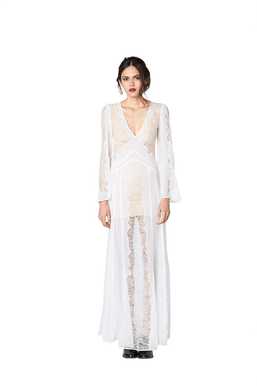 Stone Cold Fox - Edgy Lace Wedding Gowns, Bridal Style