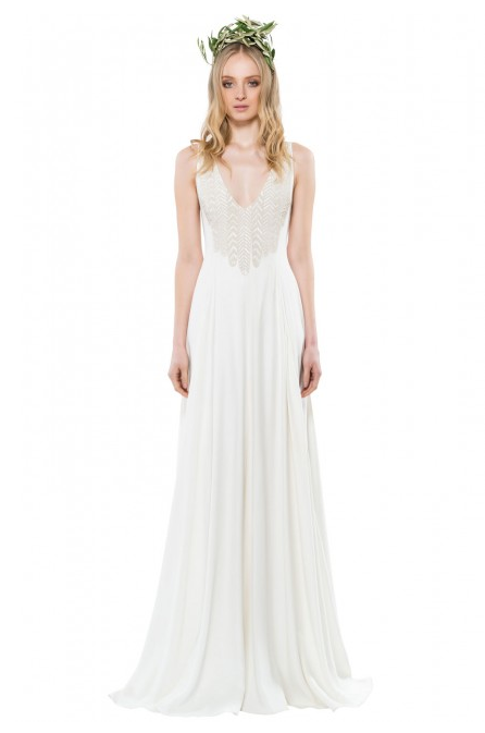 Mara Hoffman Diana Beaded Gown