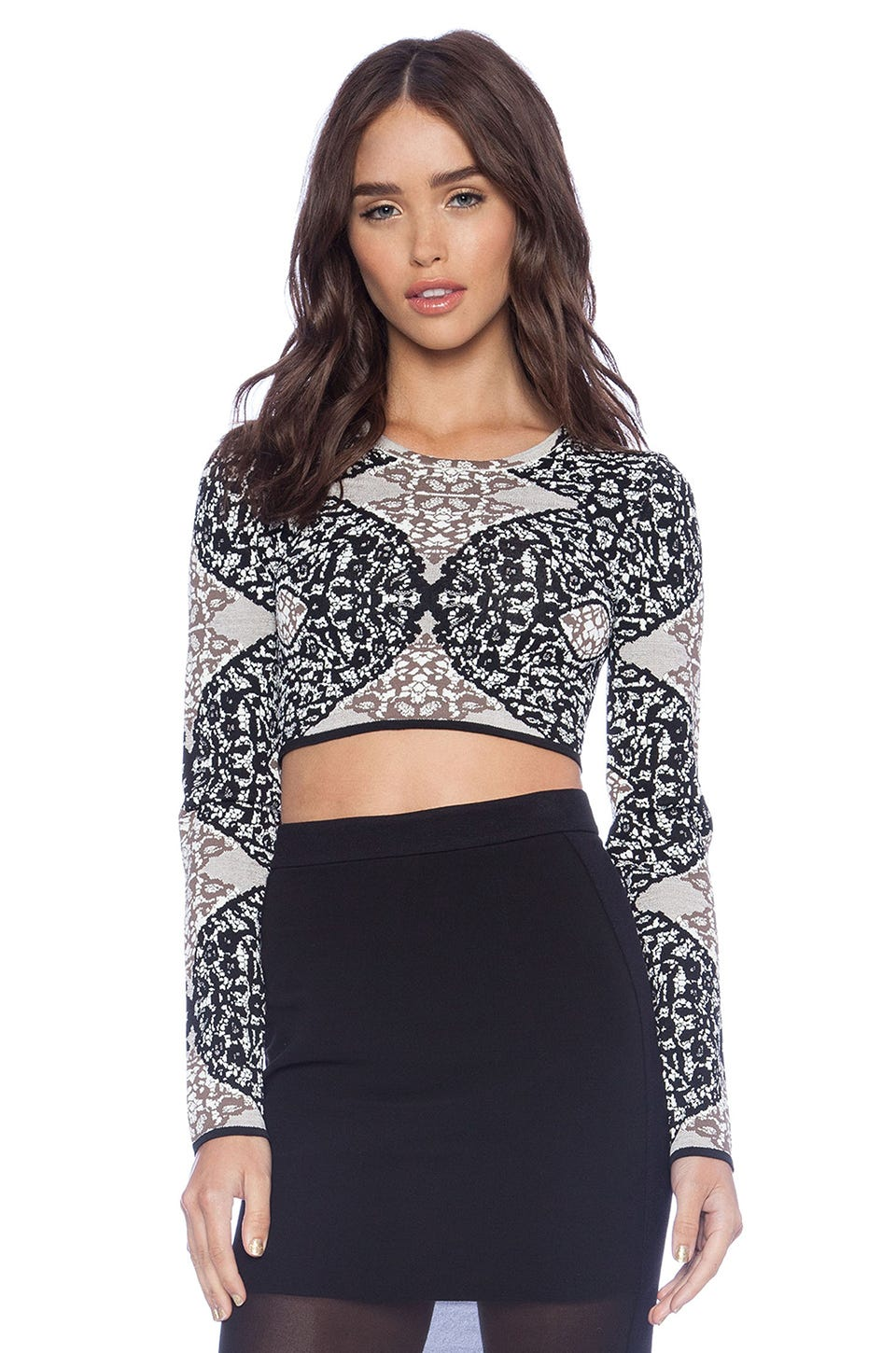 596c08e9c892bd Cold Weather Crop Top Outfits - Fall Dressing