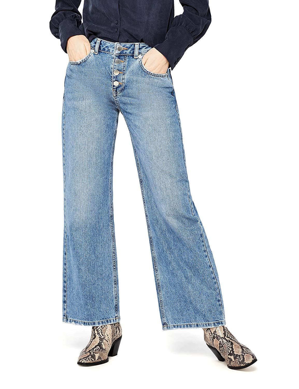 Damen Skinny Jeans mit mittlerem Bund find