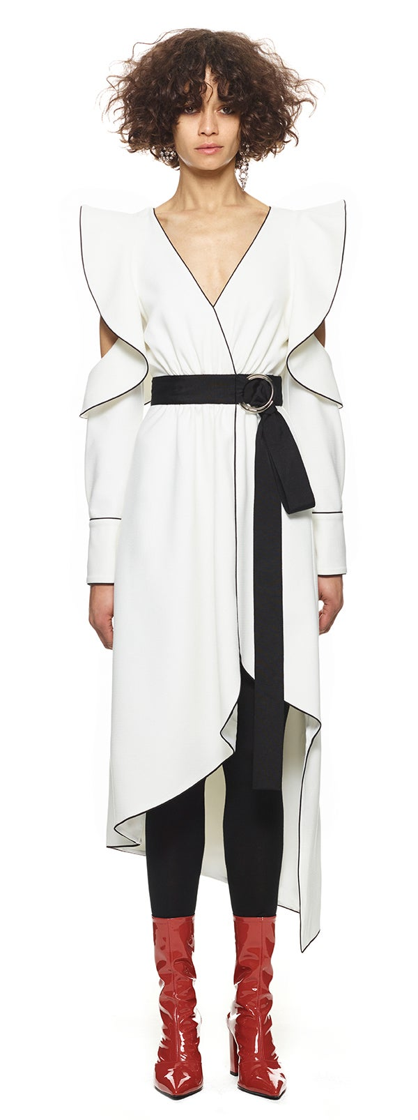 5e9696936c9 Time and Tru + Belted Midi Shirt Dress with Pocket