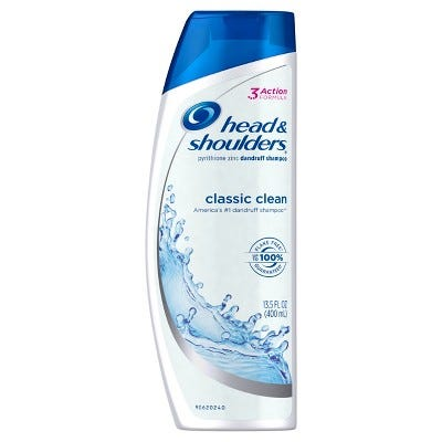 Classic Clean Dandruff Shampoo