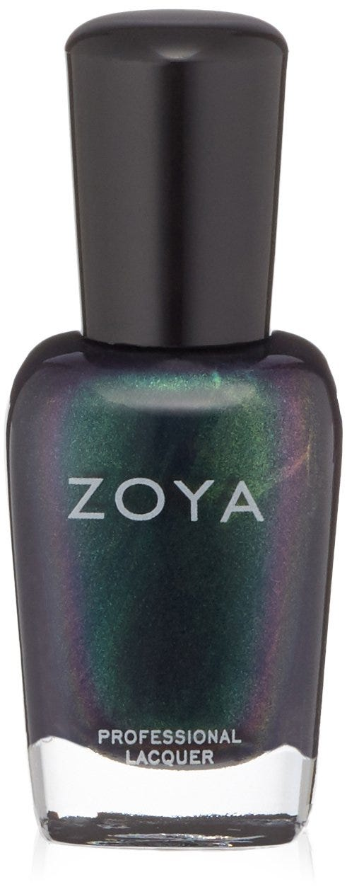 Selena Gomez Teal Nail Polish Is Chic Blue Green Color