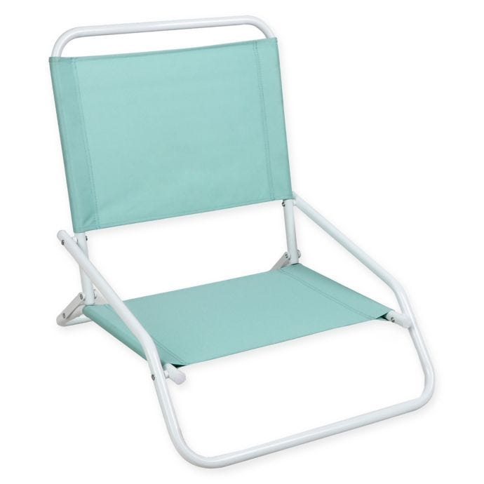 Terrific 1 Position Beach Chair In Blue Spiritservingveterans Wood Chair Design Ideas Spiritservingveteransorg