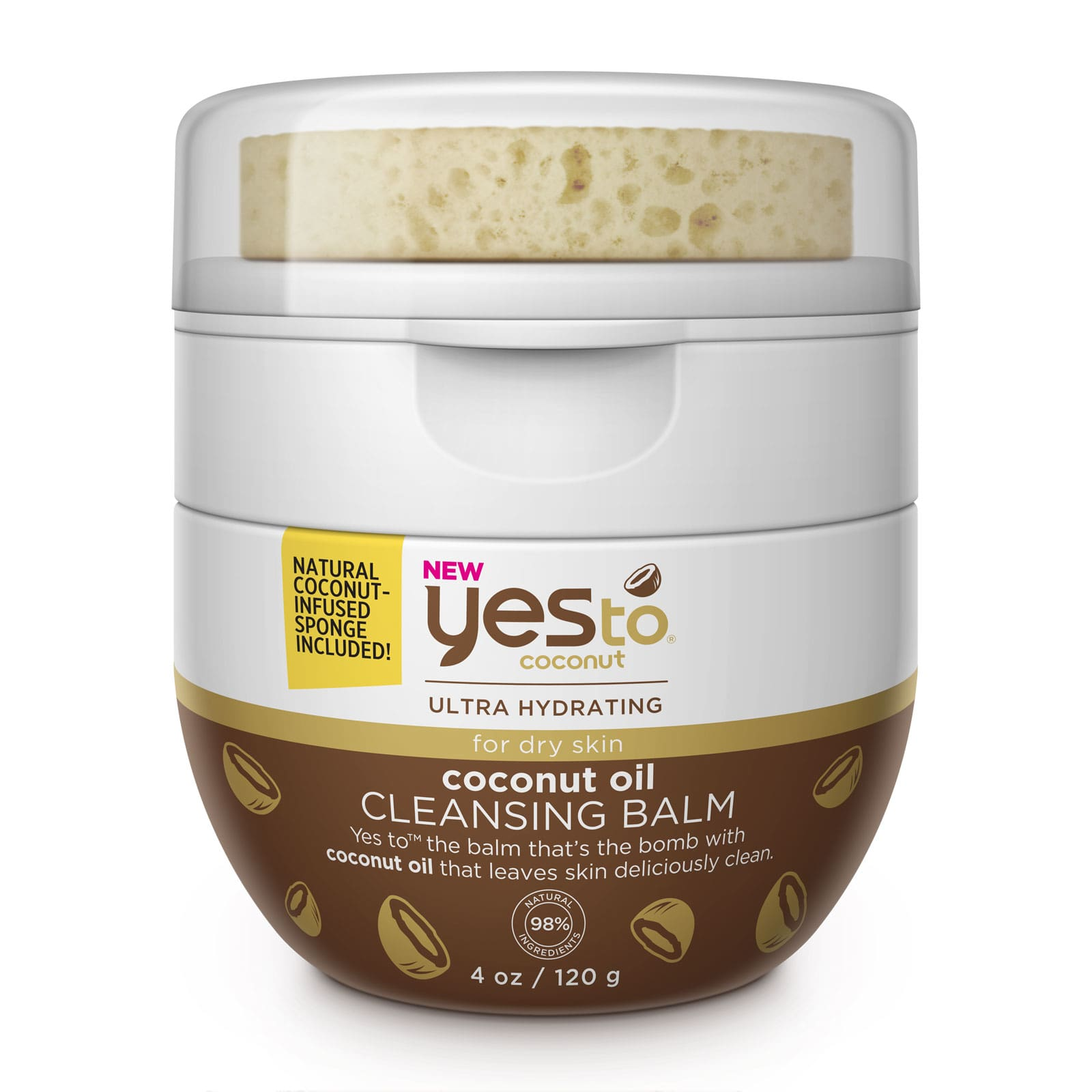 Yes To Coconut Oil Cleansing Balm 120g